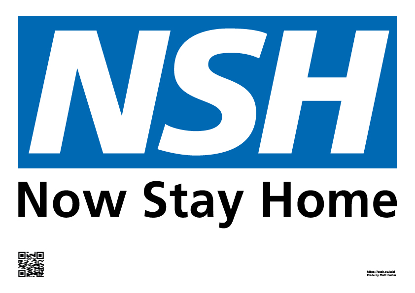 NHS - Now Stay Home