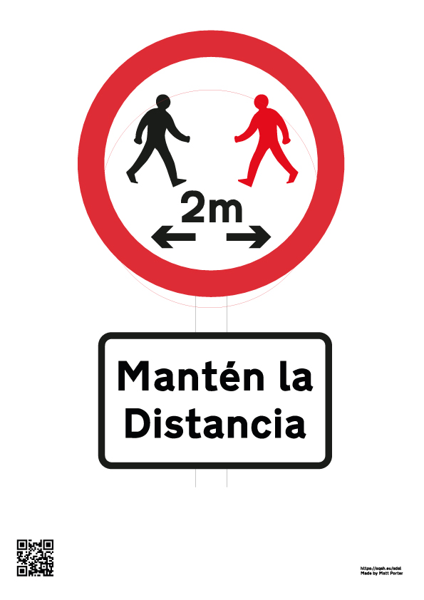 Mantén la distancia