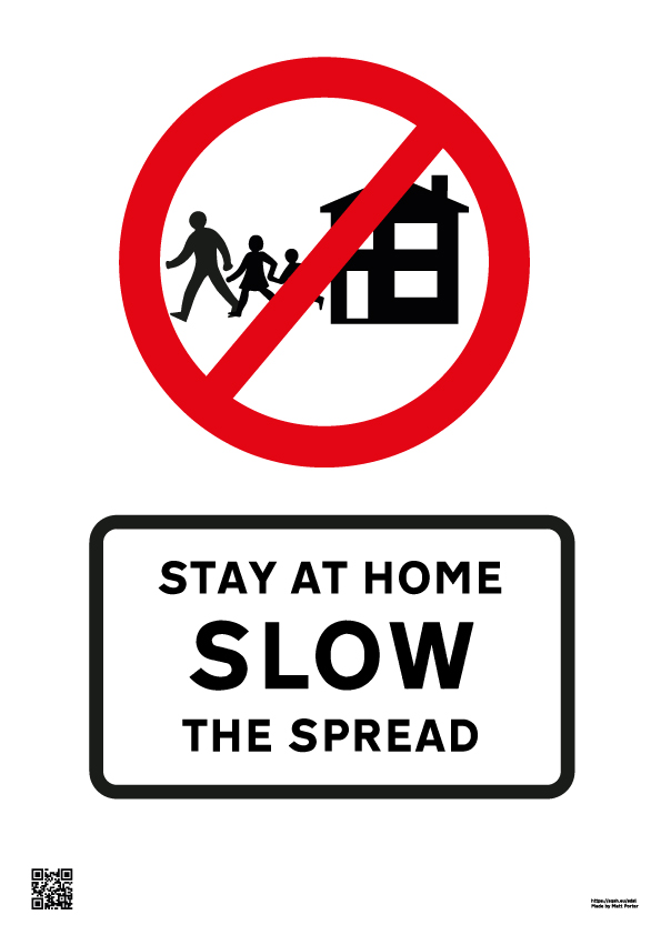 Stay at Home - Stop the Spread - Your Lives Depend on it and it doesn't affect your rights