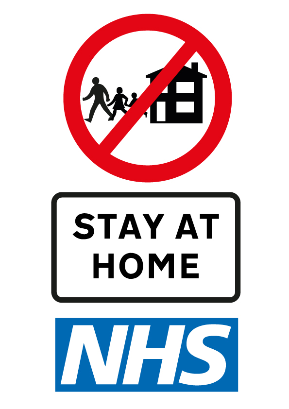 Coronavirus - Stay at Home - Protect the NHS