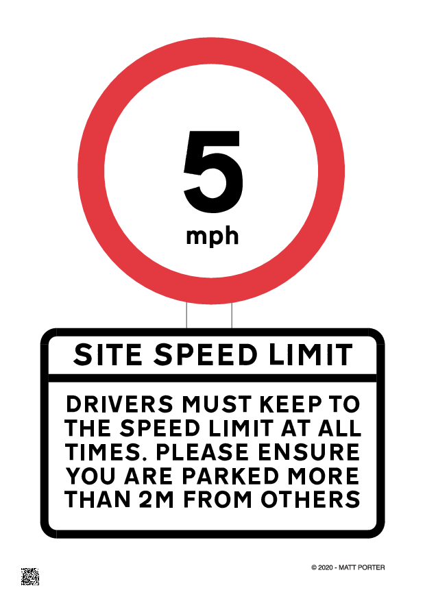Covid-19 Stay Alert -  Free Downloadable - Site Speed Limit
