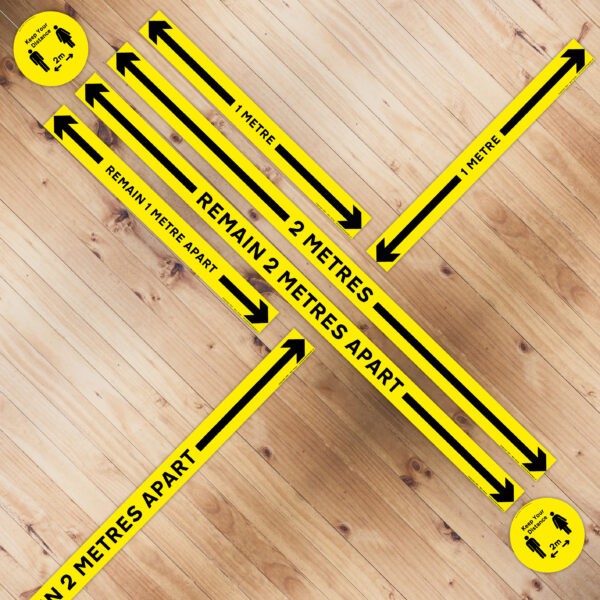 Self Adhesive Floor Measurement Strips