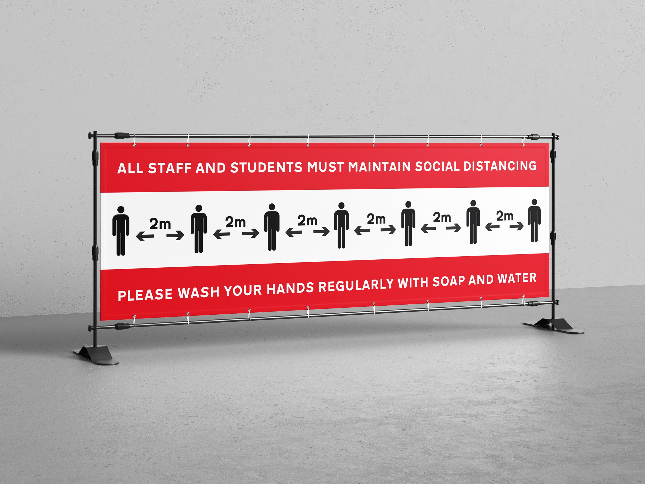 2000mm x 500mm (2m x 500cm) - Custom PVC Banner