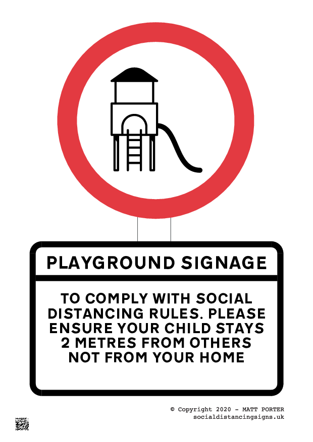 Playground Signage Maker for Download - Sign Maker for download in PDF