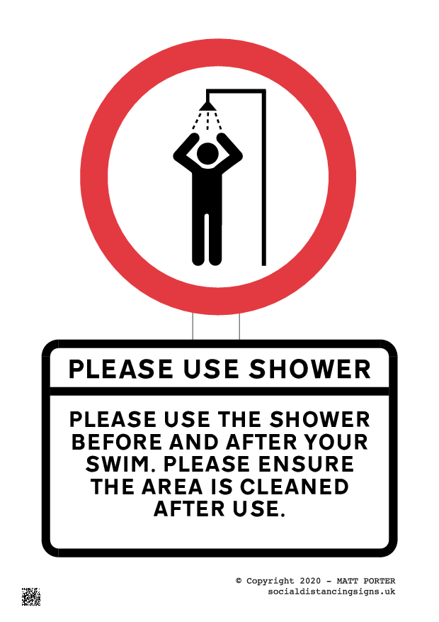 Please use this shower poster generator