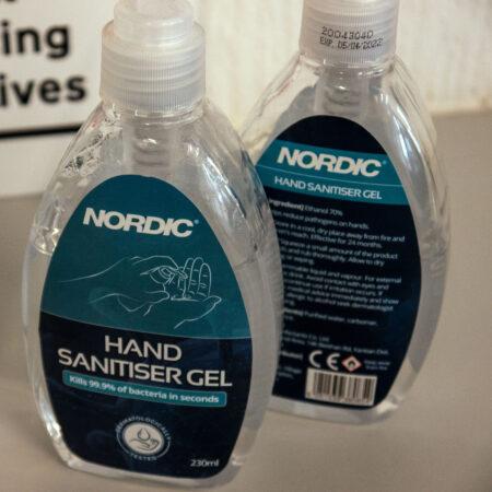Nordic Hand Sanitiser Gel 230ml - 70% Ethanol - Covid Secure